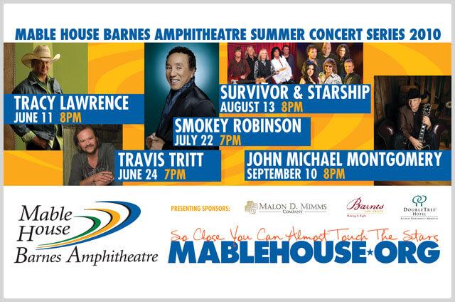 Mable House Barnes Amphitheatre 2010