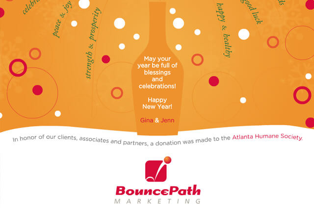 BouncePath Marketing Happy New Year 2012